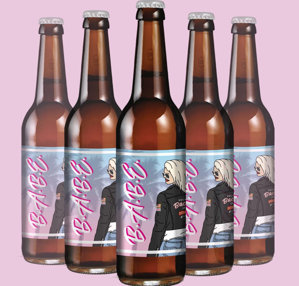 babe ipa bottles